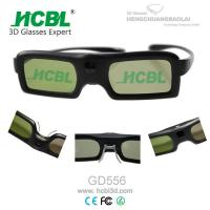 Colorful PC Frame Active Shutter 3D Glasses For Sony / Samsung / LG / PANASONIC 3D TVS