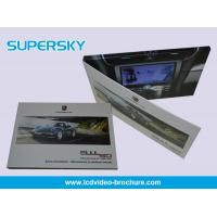 Buy cheap 500mAh - 10000mAh Bettery Digital Video Brochure With Magnetic Switch product