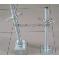Buy cheap Adjustable Scaffolding Jack Base For Leveling Ring-lock System Height from wholesalers