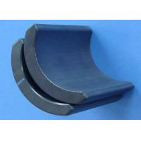Buy cheap Powerful Sintered Ferrite Magnet , Ferrite Arc Magnet for Motors product