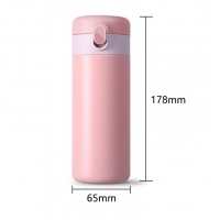Buy cheap 0.32L Leakproof 11 Ounce Thermos Flask Coffee Cup product
