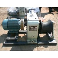 Buy cheap 5 Ton Cable Winch Puller Electric Engine 220V / 380V / 4KW Cable Pulling Winch Machine product