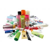 Buy cheap Colorful Collapsible Aluminum Tubes For Hand Lotion Packaging , 3ml - 200ml product
