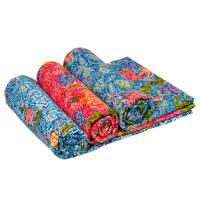 100% cotton prited beach towel with high quality