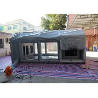 Buy cheap Air Sealed Frame Inflatable Spray Paint Booth Tent For Car Washing product