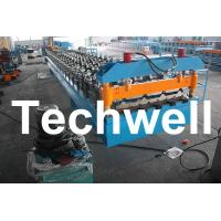 Buy quality Standard Wide Span IBR Roofing Sheet Roll Forming Machine With 5.5 Kw Main Motor Power at wholesale prices