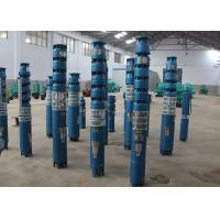 Buy cheap 3 Phase 60hz / 50hz Deep Well Submersible Water Pump 14 - 388m Head Vertical Installation product