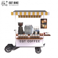 Buy cheap Cargo Scooter Wear Resistance Bicycle Coffee Cart With Remote Key product