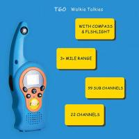 Buy cheap 2019 hot product children funny use walkie talkie with VOX/compass/lock screen from wholesalers