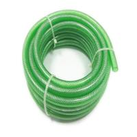 China 1 inch Good Quality High Pressure Car Washing Durable Colorful Transparent PVC Fiber Nylon Reinforced Hose on sale