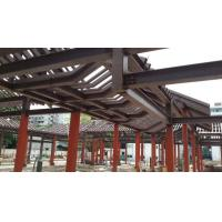 Buy cheap Customsized Poultry Farm Structure , Hollow Pipe Steel Structure Tower - Red Paint product