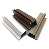 Buy cheap Champagne Anodic Oxidation Coated Aluminium Frame Extrusions product