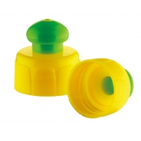 Buy cheap PP Material 28mm 410 push pull bottle caps product