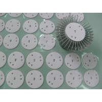 High Power LED Lights Thermal Gap Fillers , Glass Fiber Backing Conductive Silicone Rubber