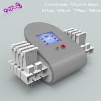 Buy quality 4D Wave Length Diodes Lipolaser Slimming Machine 635nm / 650nm / 780nm / 980nm at wholesale prices