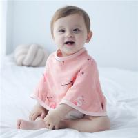 China Baby Personalized Burp Cloths / Terry Cloth Bibs For Toddlers Soft Feeling on sale
