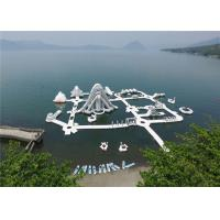 Buy cheap Nontoxic Outdoor Commercial Inflatable Water Park Unique Modern Design product