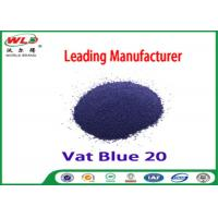 Buy cheap C I Vat Blue 20 Dark Blue Bo Dyeing Of Cotton With Vat Dyes AAA Credit product
