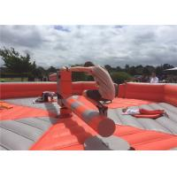 Buy cheap Interactive Inflatable Sports Arena , Wipeout Bounce House Outdoor Activities product