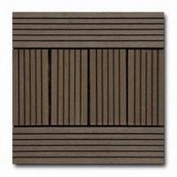 Buy cheap Composite Wood Deck Tiles, Easy to Install, Made of Purely Recycled Materials from wholesalers