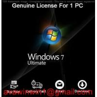 Buy cheap Germany Microsoft Windows 7 Ultimate Retail Box For Desktop Computer product