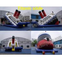 Buy cheap Inflatable Titanic Slide, Inflatable Dry,Water Slide from wholesalers
