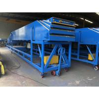 Buy cheap Mobile Telescopic Belt Conveyor for warehouse without loading bay product