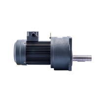 Buy cheap 0.2kW 45rpm Geared Brake Motor Compact Geared Motor product