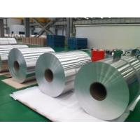 Buy cheap Chemical Composition Core 3003 + 0.5% Cu Clad 4045  Aluminum Foil Roll Thickness 0.08mm for welding Heat Exchangers product