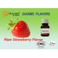 Buy cheap Ripe Strawberry Food Grade Flavouring PG Flavor Concentrate HALAL Approve product