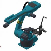 Buy cheap 1.1kw-12.5kw 	6 Dof Robotic Arm Material Handling Robots Customized Mechanical Arm Kit product