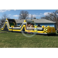 Buy cheap Guangzhou manufacturer inflatable slide inflatable obstacle course for kids product