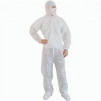 Buy cheap Non Woven Disposable Safety Protective Coverall Free Sample Available product