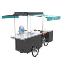 Buy cheap Electric Trike Food Cart Long Using Life With 300KG Load Capacity product