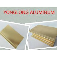 Buy cheap High Gloss And Smooth Aluminium Profiles For Windows And Doors 1.2 Thinckness product
