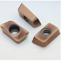 Buy cheap High Flexural Strength Indexable Carbide Inserts For Steel / Stainless Steel product