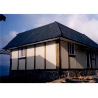 Buy quality Small U Shape Container villa with Asphalt Roof - Modular villa Building at wholesale prices