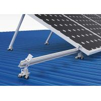 Buy cheap Living House Solar Panel Frame Mounting Kit , Triangular Bracket Solar Power Roof Systems product