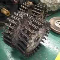 Buy cheap 80mesh Pvc Grinding Pulverizer Blade For Pipe / Board / Profile product