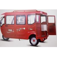 60V1280W Electric Passenger Tricycle Back Opening Door Closed 2850*1060*1800