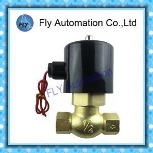 China Taiwan UNID Series Water Solenoid Valves 1/2 3/4 Brass Valve US-15 US-20 US-35 on sale