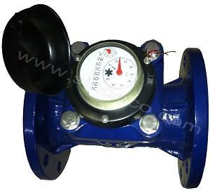 Agriculture Irrigation Horizontal Vane Wheel Dry Dial Impulse Water Meter WI