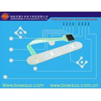 Buy cheap SMT Conector Metal Dome Membrane Switch With 220 G Embossed Push Button product