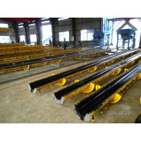 Buy quality 6m electrical pole Prestressed Concrete power Poles , concrete pole steel moulds at wholesale prices