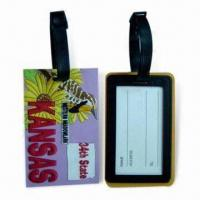 Buy cheap Soft PVC Luggage Tags, Suitable for Sales Promotional product