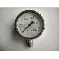 "Buy cheap 4"" High Range Liquid Filled Glycerin Pressure Gauge with All Stainless Steel Case product"