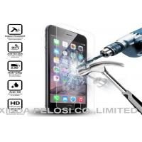 Buy cheap Tempered Cell Phone Screen Protector Responsive Touch Anti Shatter 2.5D Round Edge product