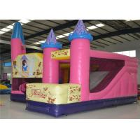 Buy cheap Lovely Princess Toddler Commercial Bounce House Inflatables PVC 0.55mm Tarpaulin product