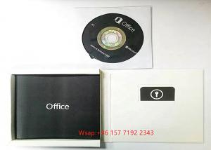 Buy cheap DVD Activation Online Microsoft Home And Business 2019 Anti Static product