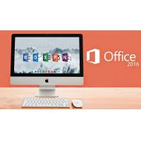 Buy cheap OEM Key Sticker Office 2016 Professional Mac , Office For Mac 2016 License Key product